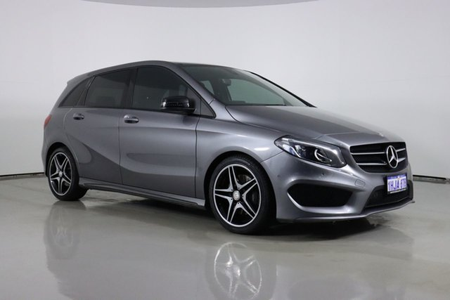 Used Mercedes-Benz B250 246 MY15 4Matic Bentley, 2015 Mercedes-Benz B250 246 MY15 4Matic Grey 7 Speed Auto Direct Shift Hatchback