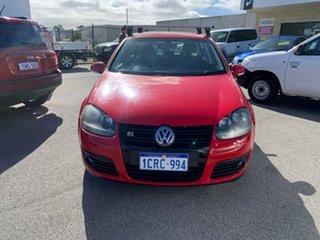 2007 Volkswagen Golf 1K MY08 Upgrade 2.0 FSI Comfortline Red 6 Speed Manual Hatchback.