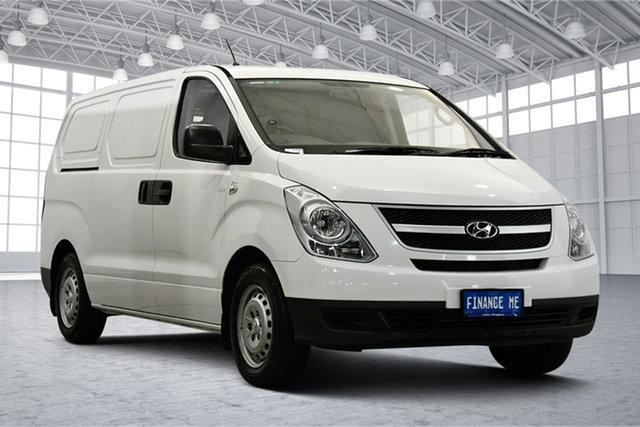 Used Hyundai iLOAD TQ2-V MY15 Victoria Park, 2015 Hyundai iLOAD TQ2-V MY15 White 5 Speed Automatic Van