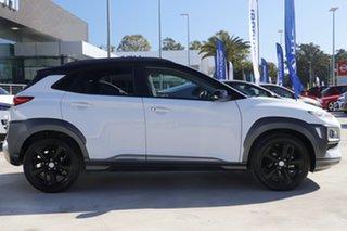 2019 Hyundai Kona OS.3 MY20 Highlander 2WD White 6 Speed Sports Automatic Wagon.