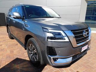 2020 Nissan Patrol Y62 Series 5 MY20 TI-L Grey 7 Speed Sports Automatic Wagon.