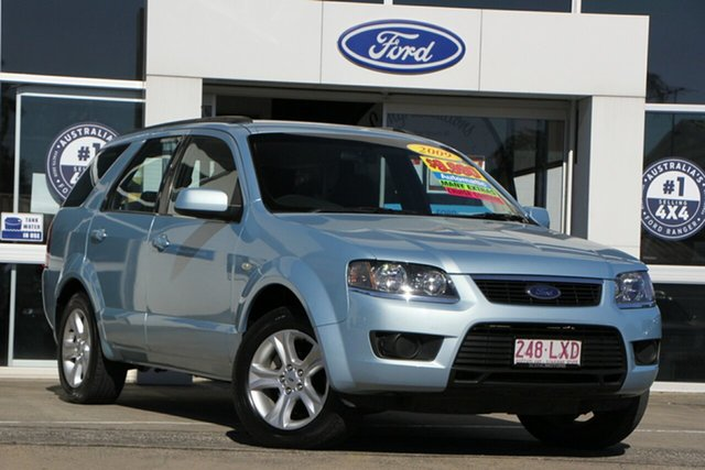 Used Ford Territory SY MkII TX Beaudesert, 2009 Ford Territory SY MkII TX Blue 4 Speed Sports Automatic Wagon
