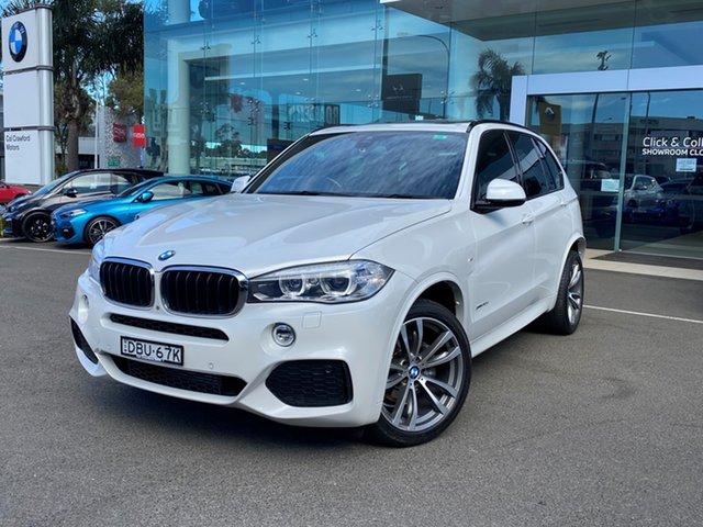 Used BMW X5 F15 MY15 xDrive30d Brookvale, 2015 BMW X5 F15 MY15 xDrive30d Mineral White 8 Speed Automatic Wagon