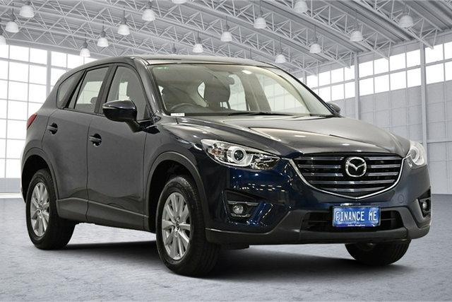 Used Mazda CX-5 KE1072 Maxx SKYACTIV-Drive Sport Victoria Park, 2015 Mazda CX-5 KE1072 Maxx SKYACTIV-Drive Sport Dark Blue 6 Speed Sports Automatic Wagon
