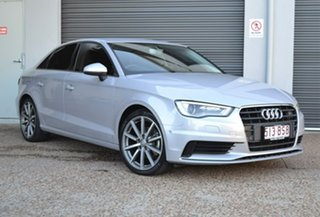 2015 Audi A3 8V MY16 Attraction S Tronic Grey 7 Speed Sports Automatic Dual Clutch Sedan.