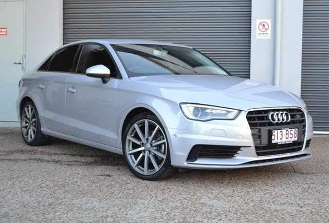 Used Audi A3 8V MY16 Attraction S Tronic Mundingburra, 2015 Audi A3 8V MY16 Attraction S Tronic Grey 7 Speed Sports Automatic Dual Clutch Sedan