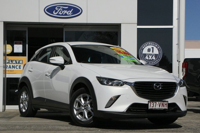Used Mazda CX-3 DK4W7A Maxx SKYACTIV-Drive i-ACTIV AWD Beaudesert, 2015 Mazda CX-3 DK4W7A Maxx SKYACTIV-Drive i-ACTIV AWD White 6 Speed Sports Automatic Wagon