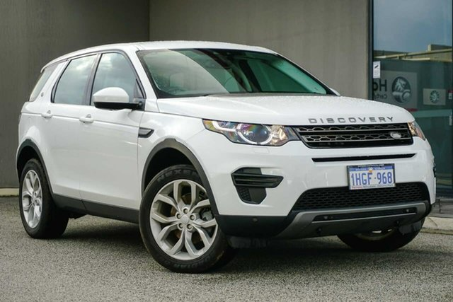Used Land Rover Discovery Sport L550 17MY TD4 150 SE Osborne Park, 2017 Land Rover Discovery Sport L550 17MY TD4 150 SE White 9 Speed Sports Automatic Wagon
