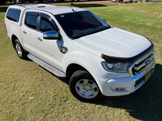 2016 Ford Ranger PX MkII MY17 XLT 3.2 Hi-Rider (4x2) White 6 Speed Automatic Crew Cab Pickup.
