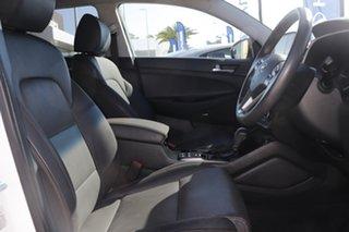 2018 Hyundai Tucson TL3 MY19 Highlander AWD White 8 Speed Sports Automatic Wagon