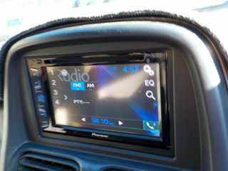 2003 Nissan Navara D22 MY2003 ST-R Black 5 Speed Manual Utility
