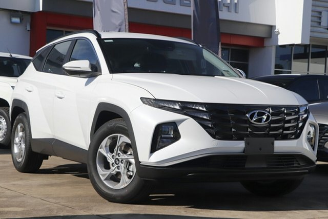 New Hyundai Tucson Wangaratta, 2021 Hyundai Tucson White Cream 6 Speed Automatic Wagon