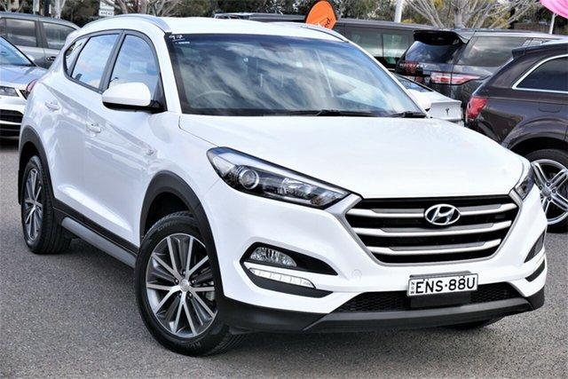 Used Hyundai Tucson TL MY17 Active X 2WD Phillip, 2017 Hyundai Tucson TL MY17 Active X 2WD White 6 Speed Sports Automatic Wagon