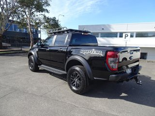 2019 Ford Ranger PX MkIII 2019.7 Raptor Shadow Black 10 Speed Automatic Double Cab Pick Up.
