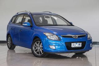 2010 Hyundai i30 FD MY11 Trophy cw Wagon Blue 4 Speed Automatic Wagon.