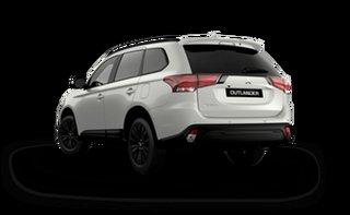 2021 Mitsubishi Outlander ZL MY21 Black Edition 2WD Starlight 6 Speed Constant Variable Wagon.