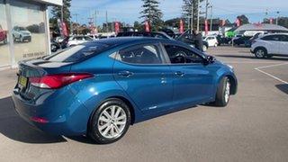 2014 Hyundai Elantra MD3 Trophy Blue 6 Speed Sports Automatic Sedan.
