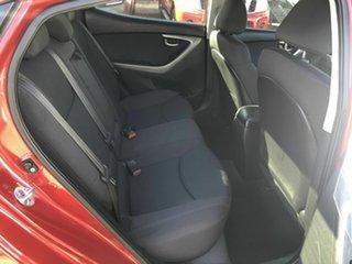 2011 Hyundai Elantra MD Elite Red 6 Speed Sports Automatic Sedan