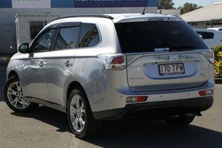 2013 Mitsubishi Outlander ZJ MY14 Aspire 4WD Cool Silver 6 Speed Sports Automatic Wagon.