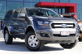 2018 Ford Ranger PX MkII 2018.00MY XLS Double Cab Grey 6 Speed Sports Automatic Utility.