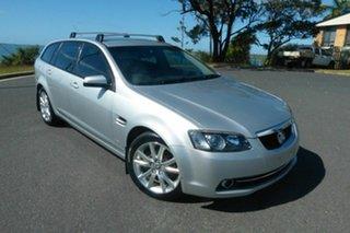 2011 Holden Calais VE II Sportwagon Silver 6 Speed Sports Automatic Wagon.