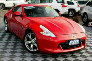 2012 Nissan 370Z Z34 MY11 Red 6 Speed Manual Coupe.