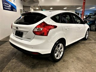 2014 Ford Focus LW MkII Ambiente PwrShift White 6 Speed Sports Automatic Dual Clutch Hatchback