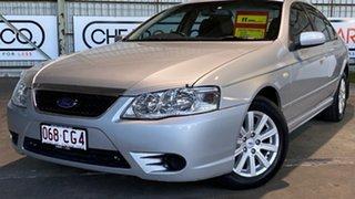 2006 Ford Fairmont BF Mk II Silver 4 Speed Sports Automatic Sedan.