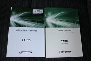 2021 Toyota Yaris Mxpa10R SX Silver Pearl 1 Speed Constant Variable Hatchback