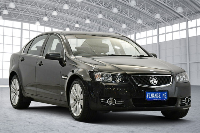 Used Holden Commodore VE II MY12.5 Z Series Victoria Park, 2013 Holden Commodore VE II MY12.5 Z Series Black 6 Speed Sports Automatic Sedan