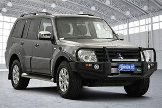 2012 Mitsubishi Pajero NW MY12 Activ Dark Blue 5 Speed Sports Automatic Wagon.