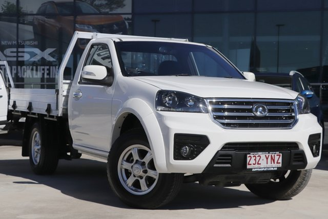 Used Great Wall Steed K2 4x2 Aspley, 2018 Great Wall Steed K2 4x2 White 6 Speed Manual Cab Chassis