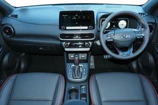 2021 Hyundai Kona Os.v4 MY21 N-Line D-CT AWD Premium Atlas White & Black Roof 7 Speed