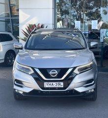 2017 Nissan Qashqai J11 Series 2 N-TEC X-tronic Silver, Chrome 1 Speed Constant Variable Wagon.