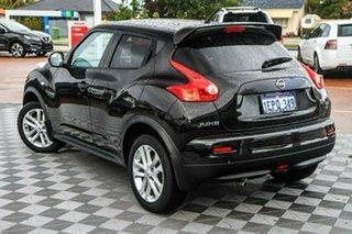 2013 Nissan Juke F15 MY14 ST 2WD Black 5 Speed Manual Hatchback.