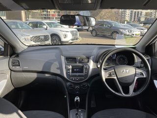2018 Hyundai Accent RB6 MY19 Sport White 6 Speed Automatic Hatchback