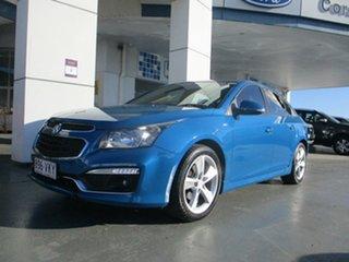 2015 Holden Cruze JH MY15 SRi V Blue 6 Speed Automatic Sedan.