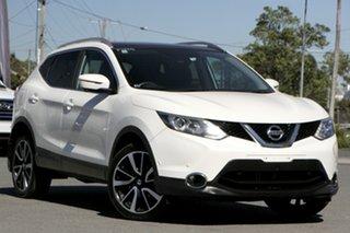 2015 Nissan Qashqai J11 TL Snowflake White Pearl 1 Speed Constant Variable Wagon.