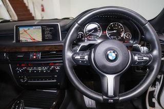 2014 BMW X5 F15 xDrive50i Alpine White 8 Speed Sports Automatic Wagon