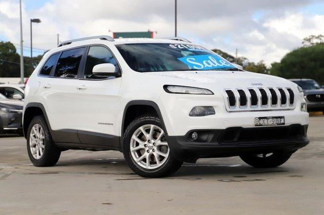 Used Jeep Cherokee KL Longitude Kirrawee, 2014 Jeep Cherokee KL Longitude White 9 Speed Sports Automatic Wagon