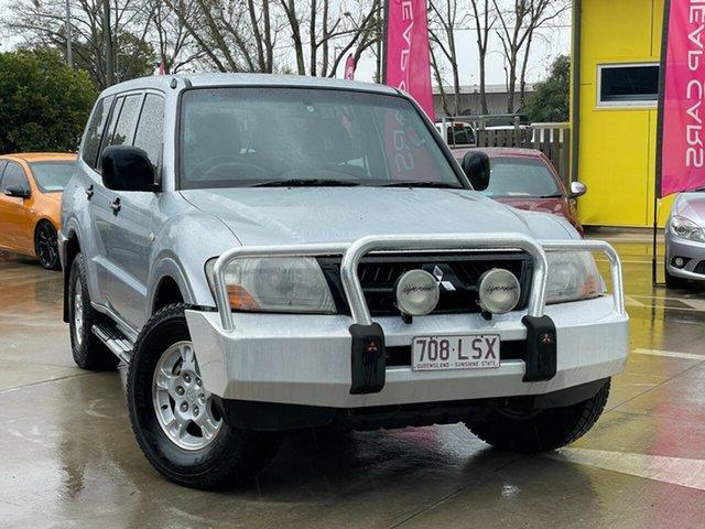Used Mitsubishi Pajero NP MY05 GLX Toowoomba, 2005 Mitsubishi Pajero NP MY05 GLX Silver 5 Speed Sports Automatic Wagon