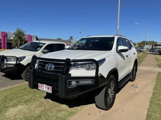 2019 Toyota Fortuner GUN156R MY19 GXL Glacier White 6 Speed Automatic Wagon