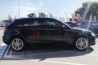 2013 Audi A3 8V Attraction Sportback S Tronic Black 7 Speed Sports Automatic Dual Clutch Hatchback