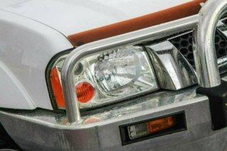 2004 Nissan Navara D22 MY2003 ST-R White 5 Speed Manual Utility
