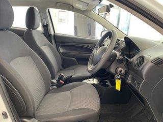 2016 Mitsubishi Mirage LA MY16 ES White 1 Speed Constant Variable Hatchback