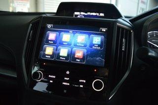 2016 Subaru Impreza G5 MY17 2.0i Premium CVT AWD Silver, Chrome 7 Speed Constant Variable Hatchback