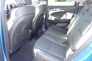 2017 Hyundai Tucson TL2 MY18 Elite D-CT AWD Blue 7 Speed Sports Automatic Dual Clutch Wagon
