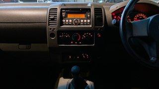 2008 Nissan Navara D40 ST-X White 6 Speed Manual Utility