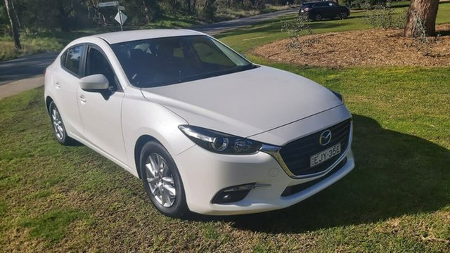 Used Mazda 3 BN5276 Touring SKYACTIV-MT Wodonga, 2017 Mazda 3 BN5276 Touring SKYACTIV-MT White 6 Speed Manual Sedan