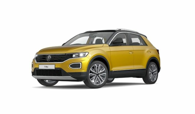 New Volkswagen T-ROC A1 MY21 110TSI Style Port Melbourne, 2021 Volkswagen T-ROC A1 MY21 110TSI Style Black 8 Speed Sports Automatic Wagon